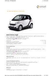 1. stran od 3 smart.com - Konfigurator 12.7.2011 http://www.smart.de ...