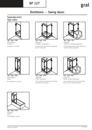 Ganzglasduschsystem BF127 - Glas und Spiegel Shop