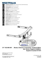 317 102 600 001 Skoda, Octavia 2 Limousine, Combi 01/05 , 4x4 ...