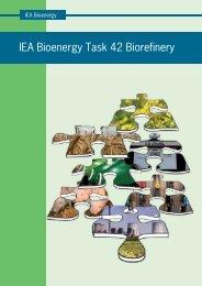 IEA Bioenergy Task 42 Biorefinery