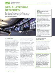 SES Platform Services K2 Edge Case Study - German ... - Grass Valley