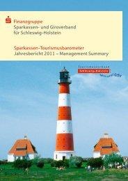 Management Summary 2011.indd - Sparkassen-Tourismusbarometer