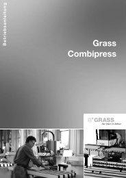 7. arbeiten mit der combipress - Grass