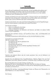 Fette & Öle Ernährungsempfehlungen - WordPress – www ...