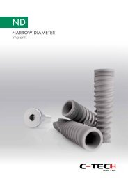 to download complete catalogue - C-TECH Implant