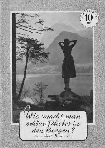 Agfa - Broschüre - Fotos in den Bergen - Photographica