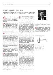 Ausgabe Juni 2004 - Berliner Anwaltsverein eV