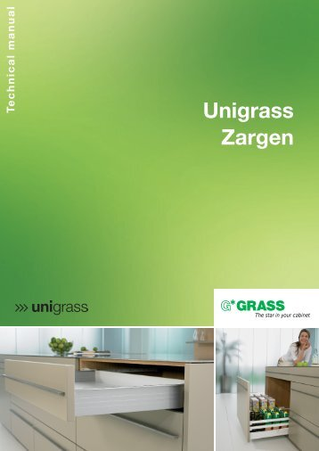 Unigrass drawer slide system