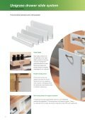 Unigrass drawer slide system - Page 2