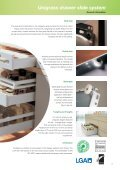 Unigrass drawer slide system - Page 3