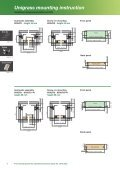 Unigrass drawer slide system - Page 6