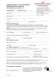 Angebotsanfrage inkl. aller Tarife als PDF-Formular - ver.di ...