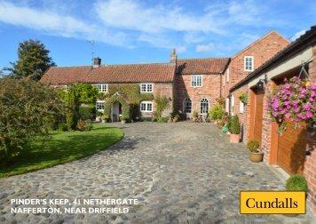 pinder's keep, 41 nethergate nafferton near driffield, east ... - Cundalls
