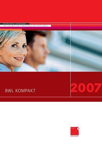BWL KOMPAKT - OFFICE SEMINARE
