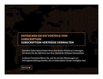 Subscription-Verträge verwalten