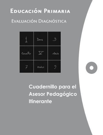 Cuadernillo para el Asesor Pedagógico Itinerante - Conafe