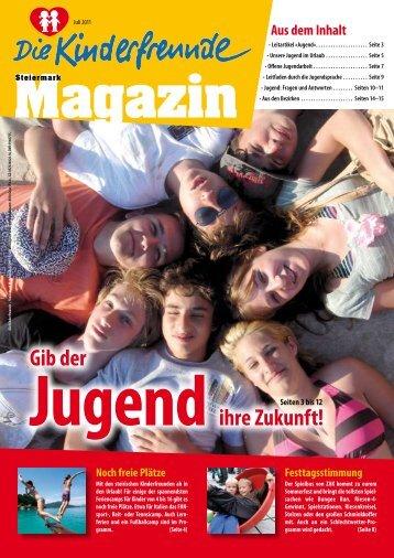 Kinderfreunde Magazin Ausgabe Juli 2011 - Steiermark