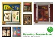 13. Omsewitzer Adventskalender 2010 - Kümmelschänke