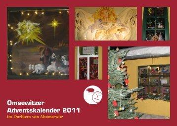 14. Omsewitzer Adventskalender 2011