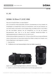 A | Art SIGMA 18-35mm F1,8 DC HSM