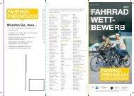 FAHRRAD WETT- BEWERB - Vorarlberg