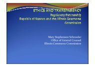 Ethics and Transparency - Narucpartnerships.org