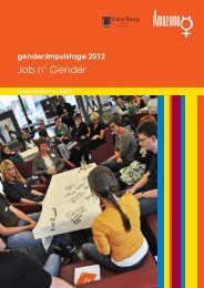 gender:impulstage 2012 - Vorarlberg