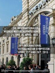 Nachlese zum 34. Internationalen Wiener Motorensymposium