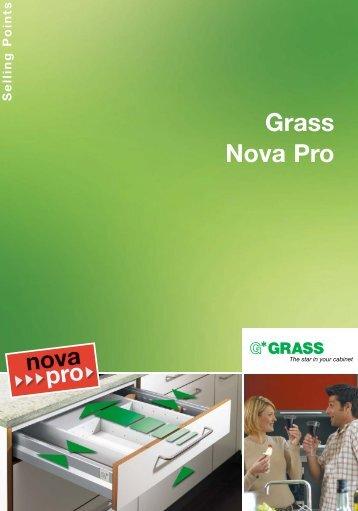 Nova Pro Drawer Slide System - Tekform