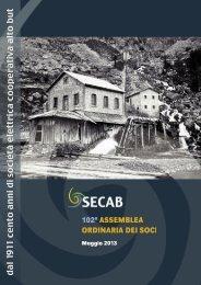 Bilancio Secab 2012