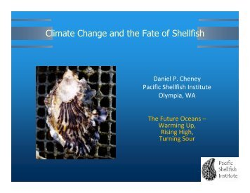 Climate Change and the Fate of Shellfish