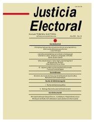 Revistadel TRIBUNAL ELECTORAL - Instituto de Investigaciones ...