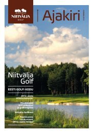 2012. aasta Niitvälja Golfi hooaja ajakiri