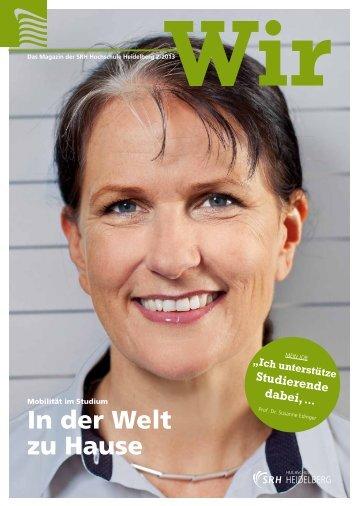 Download Wir - Ausgabe 2/2013 - SRH Hochschule Heidelberg