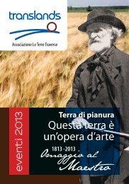 """Scarica il programma """"Terra di pianura 2013 - Le Terre Traverse"""
