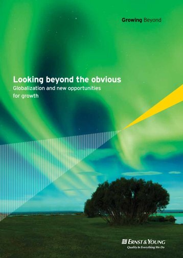 Looking beyond the obvious: globalization and new opportunities for ...