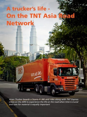 On the TNT Asia Road Network