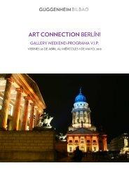 ARTCONNECTION BERLÍN! - Museo Guggenheim Bilbao