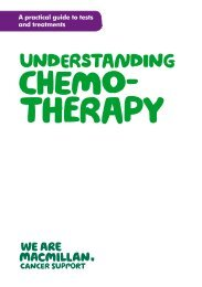 Understanding chemotherapy - Macmillan Cancer
