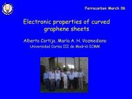 Electronic interactions in graphene sheets - Ferrocarbon