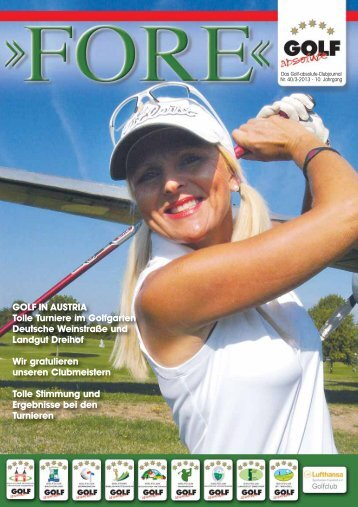 FORE – Ausgabe 3 / 2013 - GOLF absolute