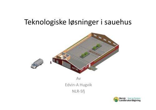 Teknologiske løsninger i sauehus