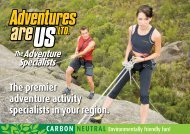 The premier adventure activity specialists in your region.