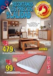 ofertas primer trimestre - Muebles Mugahi