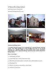 Caistor, St Thomas More - Diocese of Nottingham