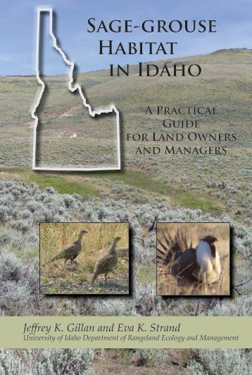 Sage-grouse Habitat in Idaho - College of Natural Resources ...