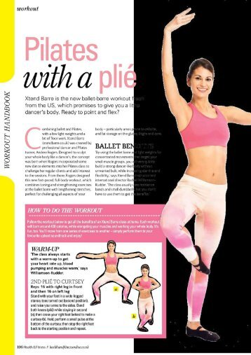 Pilates _ - Xtend Barre Workout