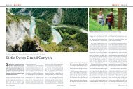 Regio Magazin, August 2013 - Hotel Adula