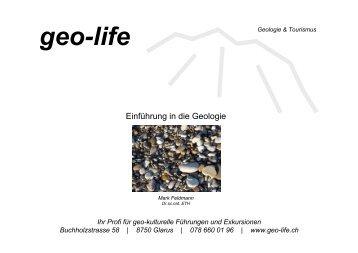6. Geologie - Metamorphe Gesteine - geo-life