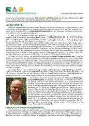 Info-Bulletin Verband Luzerner Waldeigentümmer vom ... - WgoE